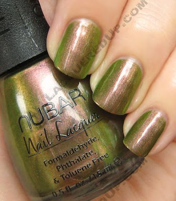 nubar wildlife going green nail polish Nubar Going Green Collection Review &amp; Swatches