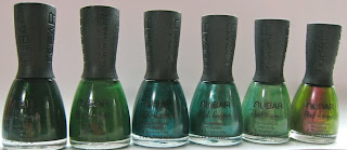 nubar, going green collection, nail polish, nail color, 3free