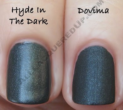 zoya dovima cnd hyde dark matte velvet nail polish Zoya Matte Velvet Review and Swatches