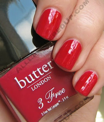 butter london blowing raspberries 3free 3 free nail polish Butter London Fashionistas Favourites