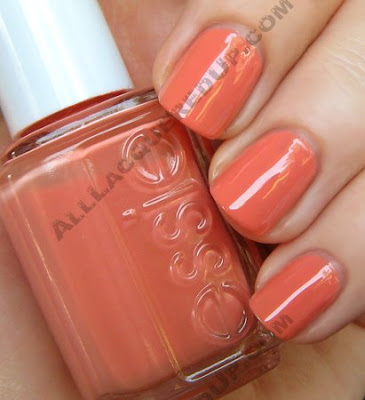 essie cantaloupe nail polish melon peach wm The ALU Archives   Essie Cantaloupe
