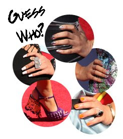 bet awards nails minx Celebrity Nail Watch   BET Awards