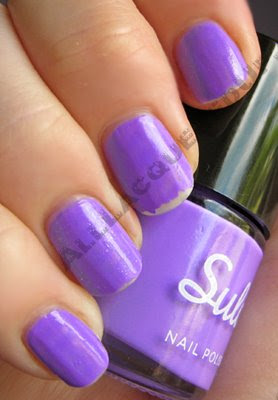 sula modern mauve paint peel polish wear Sula Paint and Peel Polish Swatches and Review