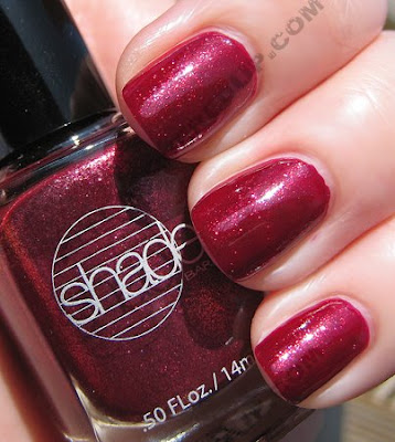 barielle glammed out garnet nail polish all lacquered up sun The All Lacquered Up Collection from Barielle   Part 2