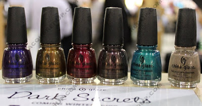 china glaze dark secrets COSMOPROF Day 2 Recap
