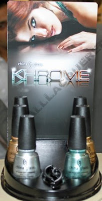 china glaze khrome COSMOPROF Day 2 Recap