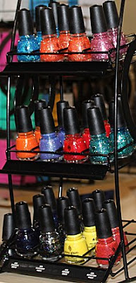 china glaze mini glitters 1 COSMOPROF Day 2 Recap