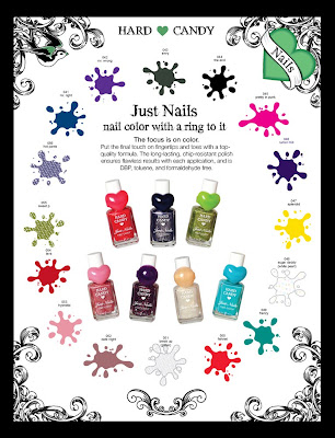 hard candy nail polish wal mart promo 1 Hard Candy Nail Polish Making A Triumphant Return