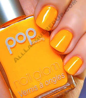 pop beauty nail glam mandarin nail polish The ALU Archives   Pop Beauty Ocean and Mandarin
