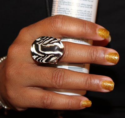 tippi shorter nyfw kleankolor NYFW Nail Watch   Nail Art, Glitters and CalGel, Oh My!