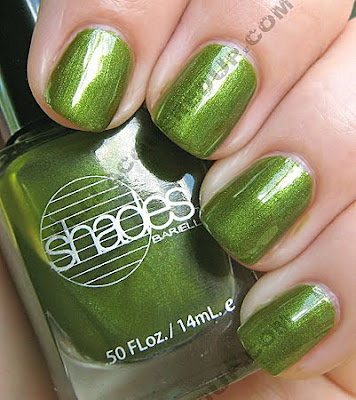 barielle polished princess all lacquered up collection Celebrity Nail Watch   Who Embraced the Green Nail Trend?