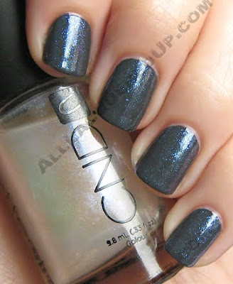cnd asphalt colour sapphire sparkle effects nail polish CND Monday   Asphalt Colour & Sapphire Sparkle Effect