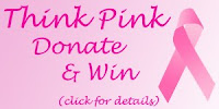 think pink donate win badge click CND Monday   Anchor Blue Colour with Emerald Shimmer Effect