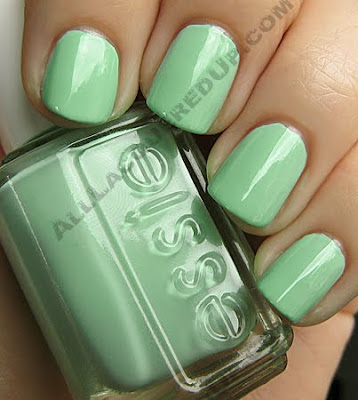 essie mint candy apple nail polish winter 2009 Essie Winter 2009 Sweet Time of The Year Swatches & Review