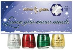 china glaze loves you snow much China Glaze Loves You Snow Much Holiday Swatches & Review