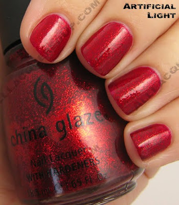 china glaze ruby pumps i love you snow much 2009 China Glaze Loves You Snow Much Holiday Swatches & Review