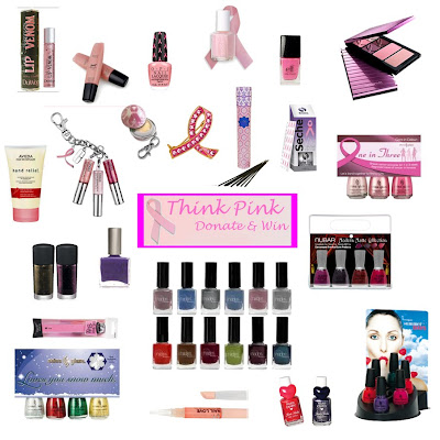 think pink donate and win winner Last Call for the Think Pink   Donate & Win Giveaway