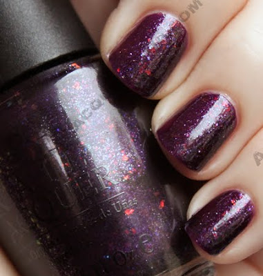 opi merry midnight holiday wishes 2009 nail polish OPI Holiday Wishes Collection Swatches & Review