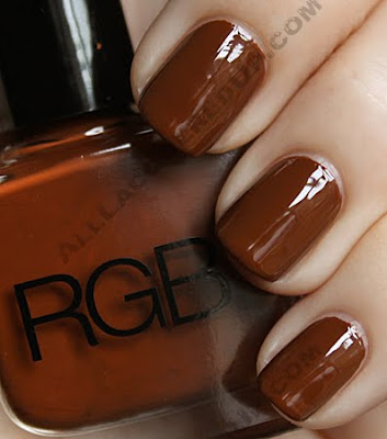 rgb cognac nail polish RGB Cosmetics Fall 09 Swatches & Review