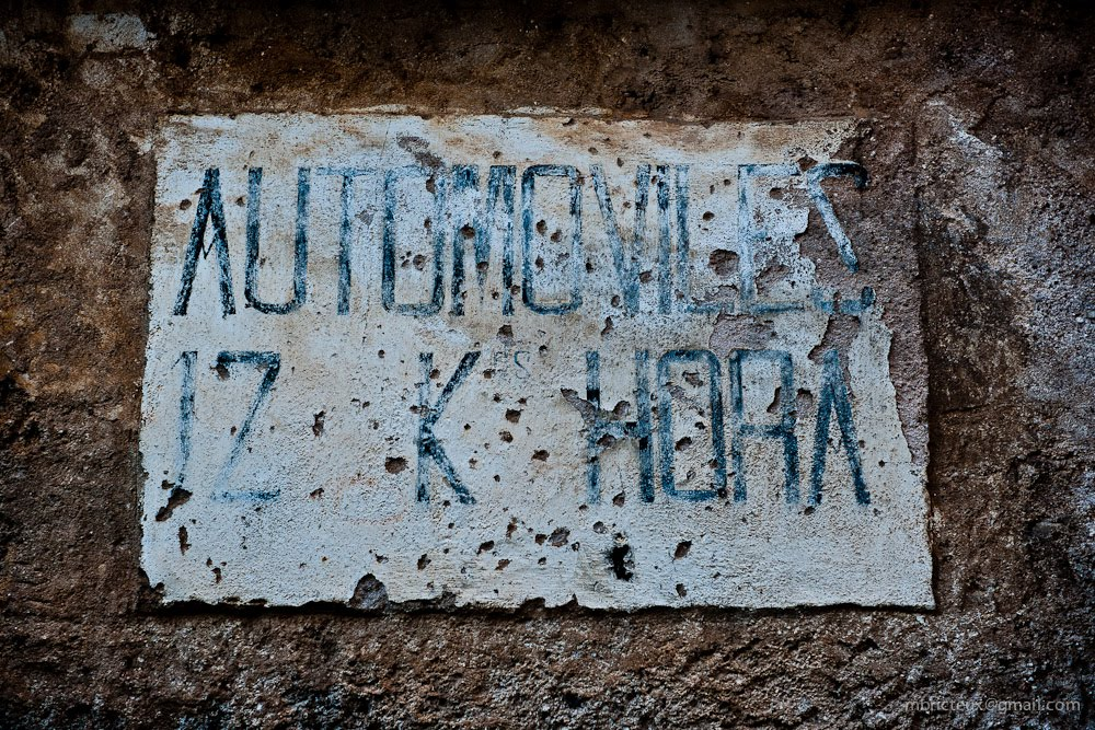 "Memories of a Time Gone By : ""Automoviles 12km por Hora"" - Sepúlveda (Spain)"