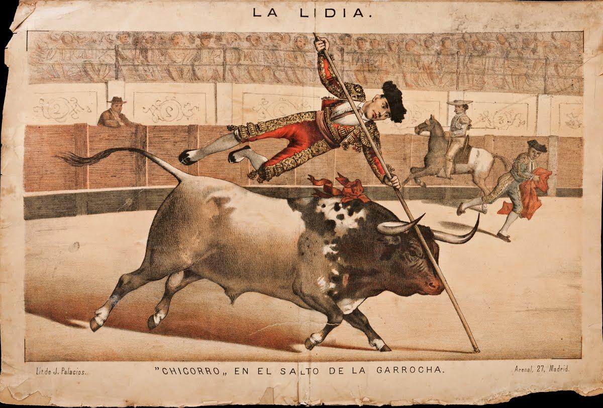 """LA LIDIA : """"Chicorro"""" en el salto de la Garrocha"""