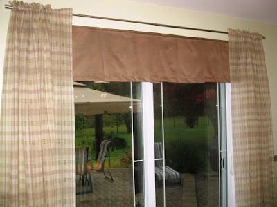 Confection lyne raymond rideaux pour porte patio for Habiller un encadrement de porte