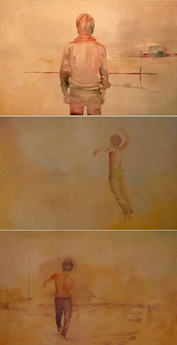 Veljko Vidak à la Lm galerie, rue Charlot Haut marais paris