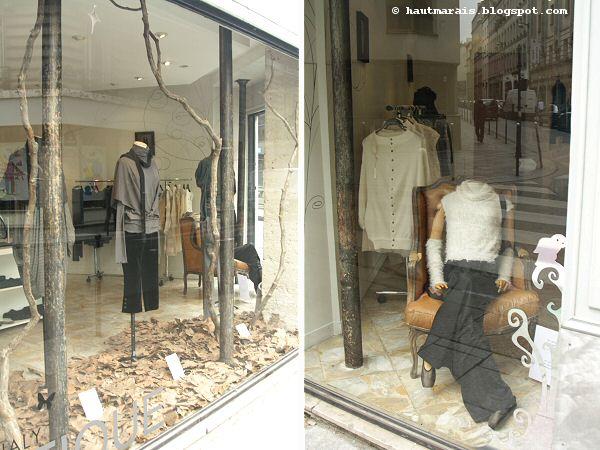 Boutique Miki Mialy - 3 rue Commines - Paris 3e - Haut Marais