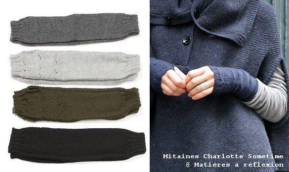 mitaines charlotte sometime time has come mati res r flexion paris. Black Bedroom Furniture Sets. Home Design Ideas
