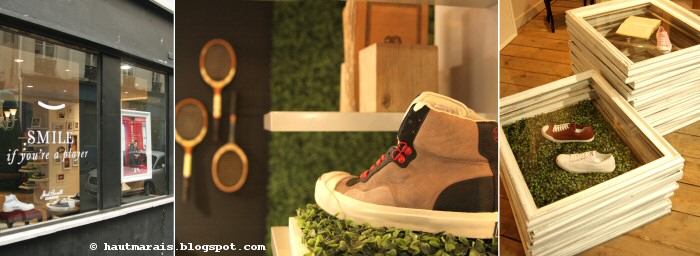 Jack Purcell Pop-up store, rue saintonge Paris