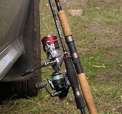 Daiwa Legalis on Diestro, Shimano Ultegra Advanced on Finezza