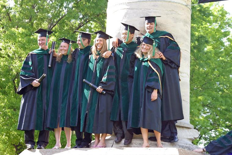 "Med School Graduation at ""The Columns""...May 2005"