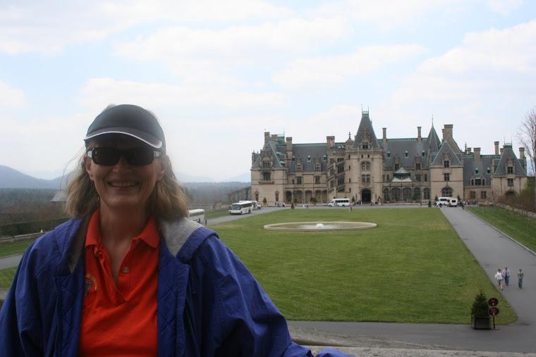 Mom at The Biltmore House, April, 2007