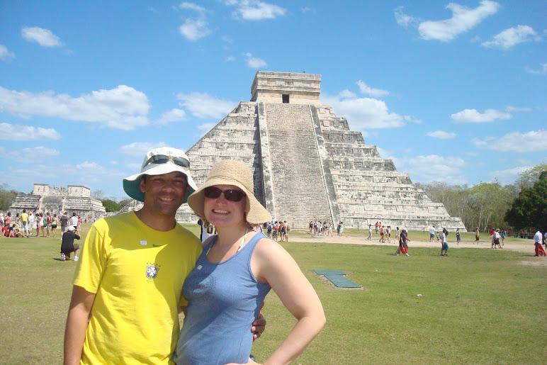 The Mayan Ruins in Chichen Itza, Mexico