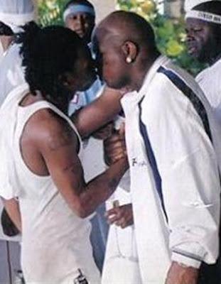 lil wayne kiss bird man lil