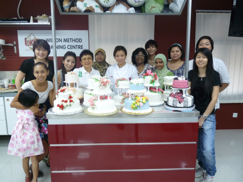 Cake Decorating Classes For 11 Year Olds : Heavenly Cake Creations: Course 3 Graduation Pictures