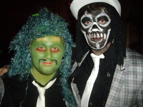 Koko Halloween : best dressed award mighty boosh  Old Greg and The Spirit of Jazz