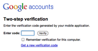 2 Steps Authentication