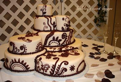 Mehndi Inspired Cake : Shockley s sweet shoppe cream chocolate designer inspired