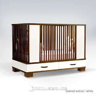 Morgan Modern Crib Beds Kids Furniture