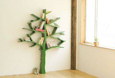 Decorative Furniture on And Garden Design   Decorative Tree Bookshelf Furniture For Kid Room