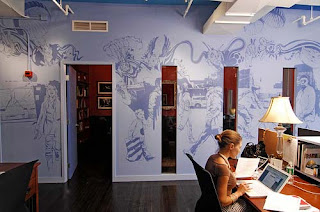 Specials Art Wall Office Design