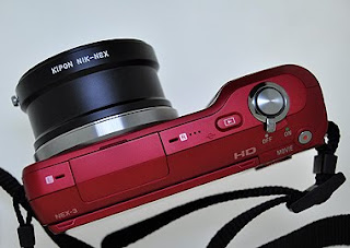 sony nex-5 nikon f lens adapter]