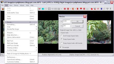 sony nex 3d panorama sterephotomaker tutorial