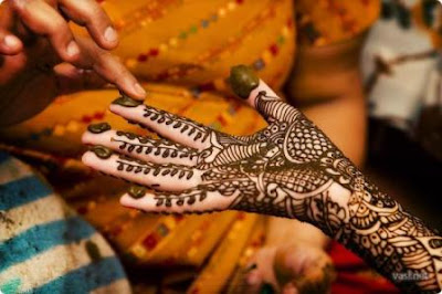 cool Arabic mehndi design