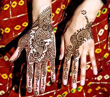 beautiful Arabic mehndi pictures