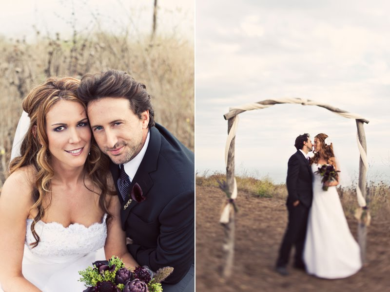 Eileen and Ian celebrated their country style wedding at the Orella Ranch in