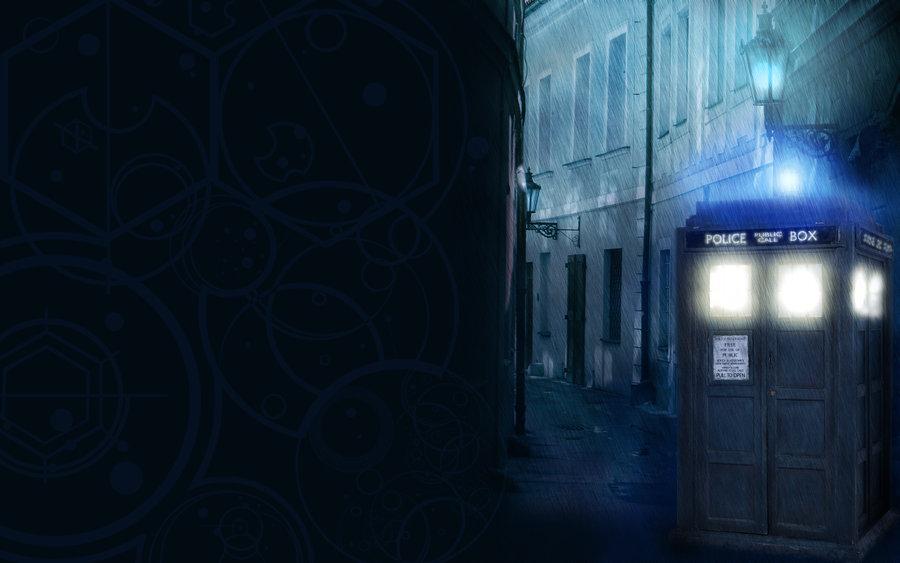 Hello Im The Doctor TARDIS Wallpaper