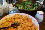 Bow Tie Pasta in Vodka Sauce with Chicken