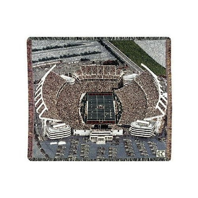 University of South Carolina Gamecocks football stadium blanket.